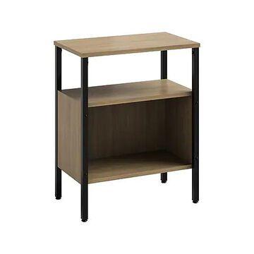 "Safco Simple 2-Shelf 30""H Bookcase, Neowalnut (5507BLWL)"