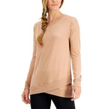 Ideology Women's Crossover-Hem Top, Created for Macy's
