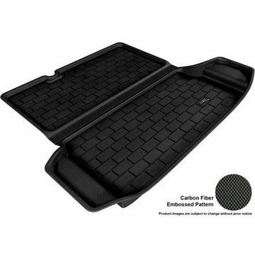 3D MAXpider 2012-2017 Chevrolet Sonic Sedan All Weather Cargo Liner in Black with Carbon Fiber Look