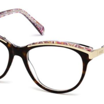 Emilio Pucci EP5038 052 Womenas Glasses Tortoise Size 53 - Free Lenses - HSA/FSA Insurance - Blue Light Block Available
