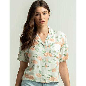 RVCA Luke Floral Womens Shirt