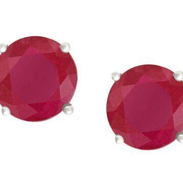 Premier 1.00 cttw Ruby Stud Earrings, 14K Gold