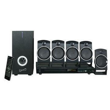 Supersonic 5.1-channel Dvd Home Theater System Sscsc37ht