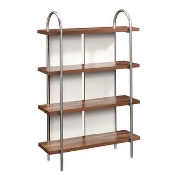 Sauder Vista Key Bookcase in Blaze Acacia