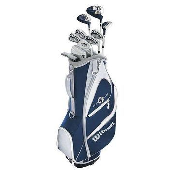 Wilson Profile XD Womens Right Handed Complete Golf Club Set with Carry Bag