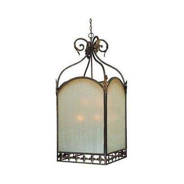 Jeremiah Lighting Devereaux 9-Light Foyer in Burleson Bronze