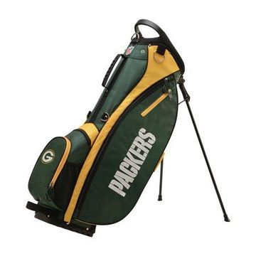 Wilson NFL Carry Golf Bag, Green Bay Packers