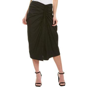 Carolina Herrera Wrap Skirt