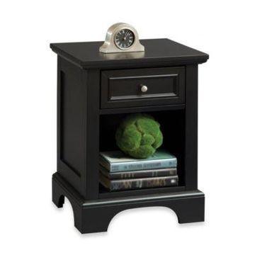 Home Styles Bedford Nightstand in Black