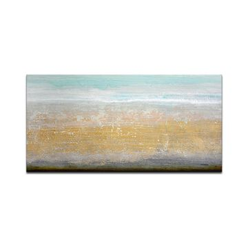 "Ready2HangArt 'Beach Sand' Canvas Wall Art, 18x36"""