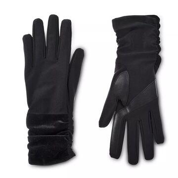 Women's isotoner Lined Elongated Spandex & Velvet Gloves