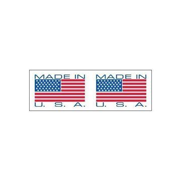 Tape Logic Pre-Printed Sealing Tape Made in USA 2x110 yds. /Blue 36/CS