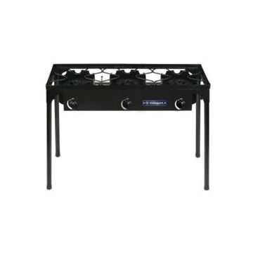Stansport Outdoor Stove With Stand - Three Burners