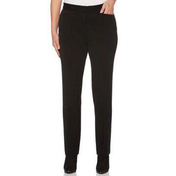Rafaella Women's 2Way Gab Classic Fit Pants -
