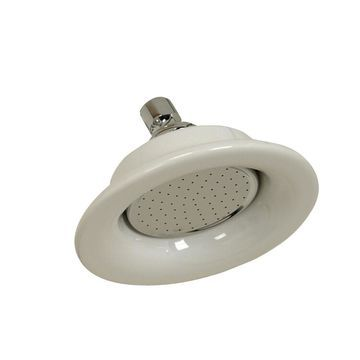 Barclay Polished Chrome 1-Spray Shower Head