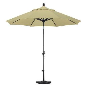 California Umbrella 9' Patio Umbrella in Antique Beige
