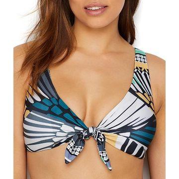 Handkerchief Reversible Bikini Top D-E-F Cups