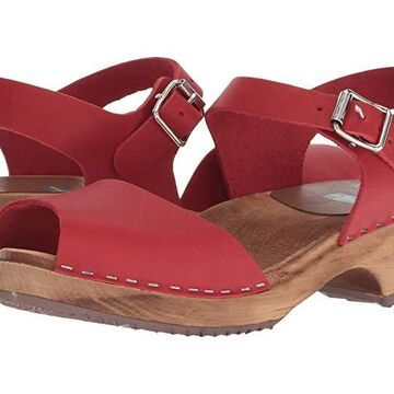MIA Anja (Red Leather) Women's Shoes