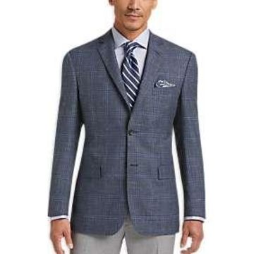 Pronto Uomo Platinum Sport Coat Blue Plaid