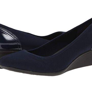 Anne Klein Sport Wisher (Navy) Women's Shoes