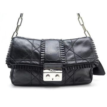 Dior Miss Dior Black Leather Handbags