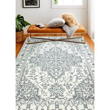 Bashian Abena Transitional Floral Area Rug