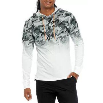 Ocean Current Men's Camo Fade Hooded T-Shirt - -
