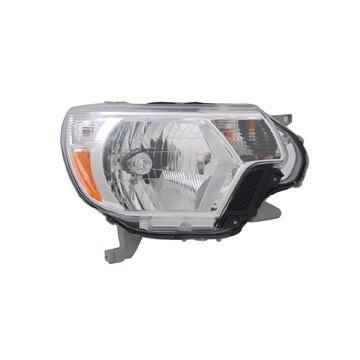 Headlight Depo - 12-15 Toyota Tacoma Head Lamp Assembly RIGHT HAND / PASSENGER SIDE 2014-Type 1 CAPA Certified
