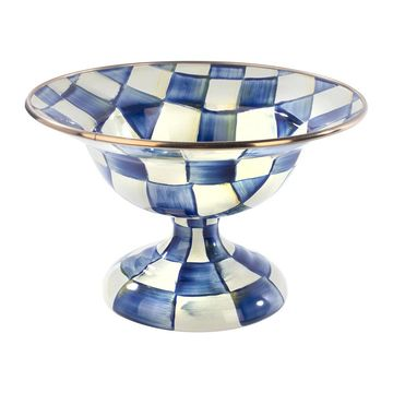 MacKenzie-Childs - Royal Check Compote - Small