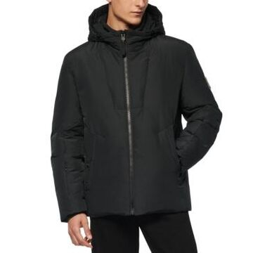 Marc New York Men's Spalding Down-Filled Hooded Jacket