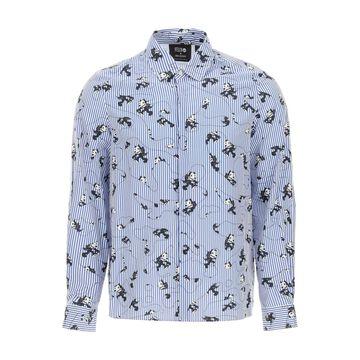 Neil Barrett Felix The Cat Cotton Shirt