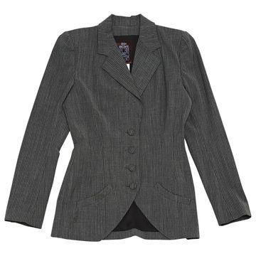 John Galliano \N Grey Wool Jackets