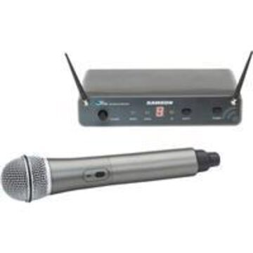 Samson CH88 Wireless Handheld Microphone with Q6 Dynamic Capsule, D: 542-566 MHz