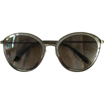 Oliver Peoples \N Gold Metal Sunglasses