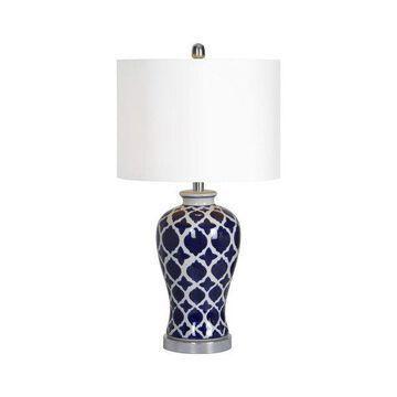 Ren Wil LPT592 Indigo 1 Light Table Lamp