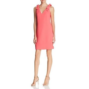 Eliza J Womens Textured Knee-Length Party Dress