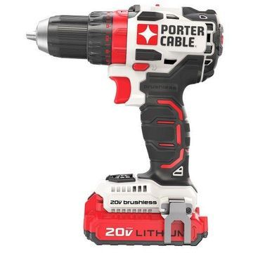 Porter Cable PCCK607LB 20-Volt Lithium-Ion Cordless Brushless Drill Driver Kit