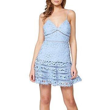 Bardot Agnes Tiered Lace Dress