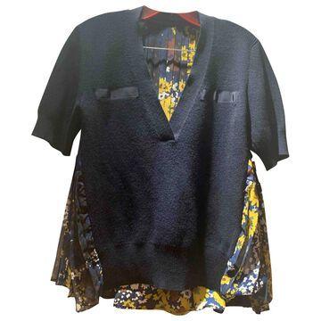 Sacai \N Navy Wool Tops