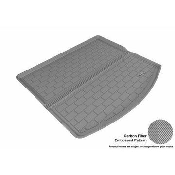 3D MAXpider 2013-2016 Mazda CX-5 All Weather Cargo Liner in Gray with Carbon Fiber Look