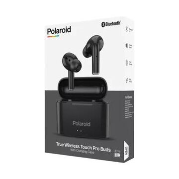 Polaroid True Wireless Touch Pro Earbuds With Charging Case -