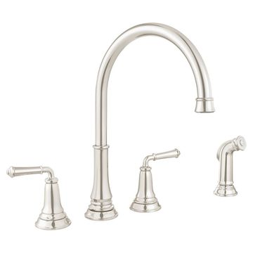 American Standard 4279.701 Delancey Double Handle Widespread Kitchen Faucet