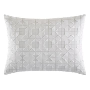 Vera Wang Tuille Floral Origami Throw Pillow