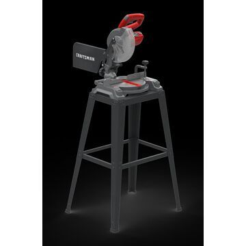 CRAFTSMAN CFT 7-1/4-in SB Compound Miter Saw with Stand | CMXEMAX69434509