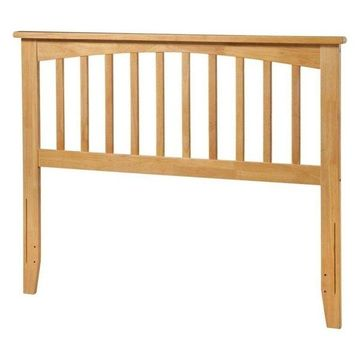 Atlantic Furniture Mission Full Spindle Headboard, Natural
