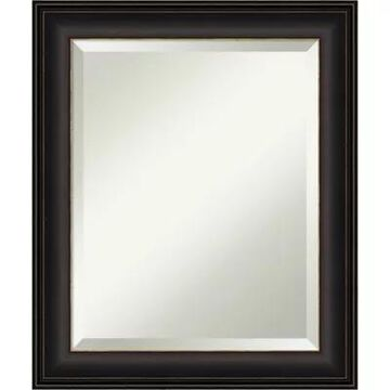 "Amanti Art 21"" X 25"" Trio Oil Rubbed Framed Wall Mirror In Bronze Oil Rubbed Bronze"
