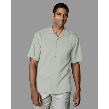 Twin Hill Mens Camp Shirt Celery Recycled Poly