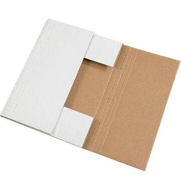 ''Box Partners Easy-Fold Mailers 24'''' x 18'''' x 2'''' White 50/Bundle M24182BF''