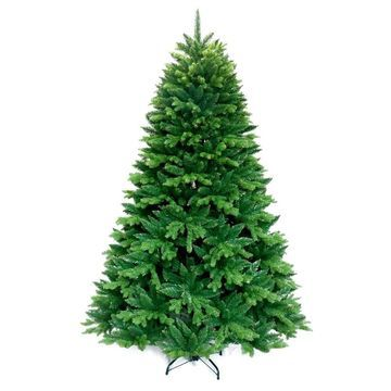 ALEKO Lifelike Artificial Christmas Holiday Lush 6 Foot Green Tree