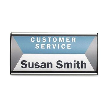 Advantus People Pointer Wall Sign, 4